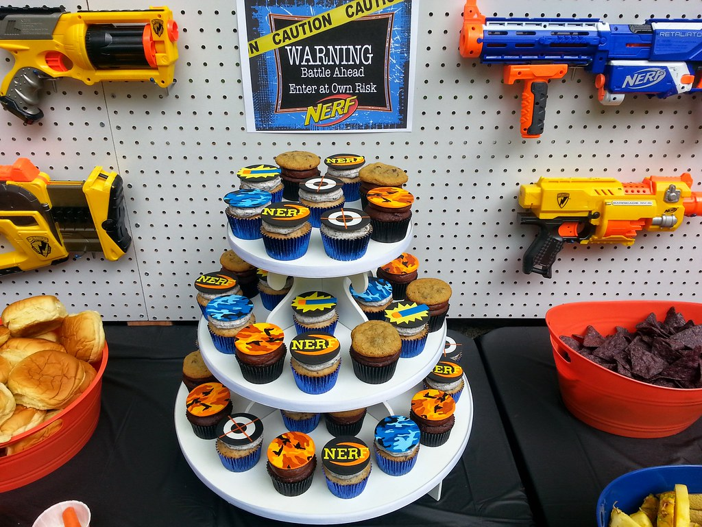... Duncan and Ryan's Nerf War Birthday Party | by death by cupcake