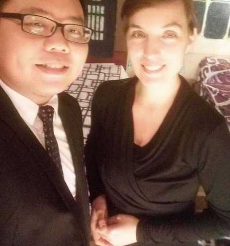 With Percy, translator in Shenzhen | by E.Briel