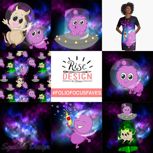 Foliofocus Faves - Squibble Design Cute Aliens