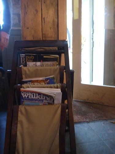 Fine Literature in the Freshford Inn
