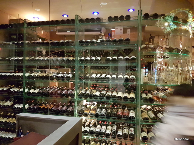 ViBo Restaurant wine cellar