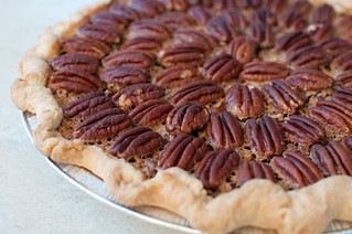 Caramel Bourbon Pecan Pie | by Sweet Lauren Cakes