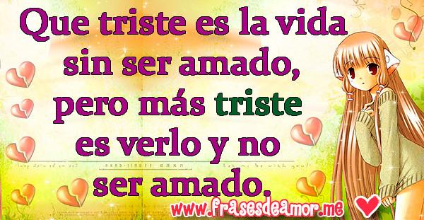 15 Frases De Amor Tristes Con Imagen Para Facebook Frase Flickr