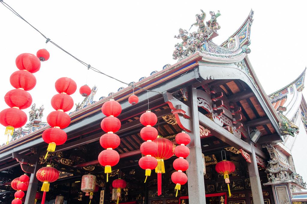 One of the historical temple in Melaka