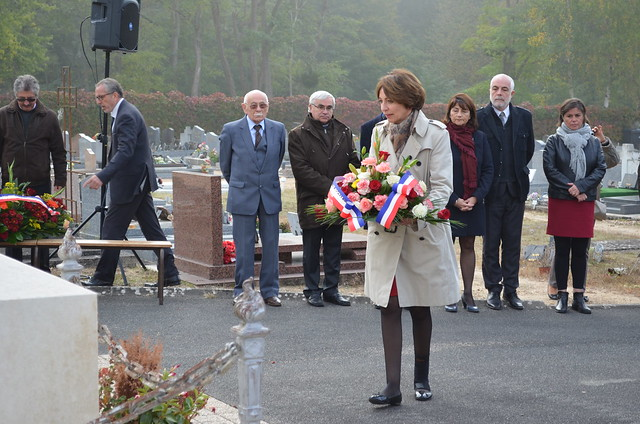 73ème anniversaire de l'explosion du Ripault à Monts