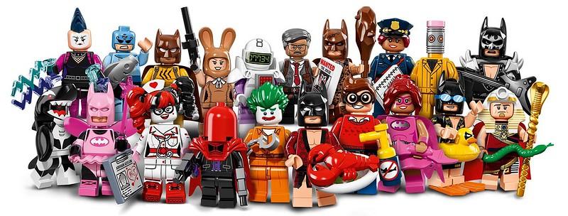 LEGO The Batman Movie 71017 - Minifigures Series