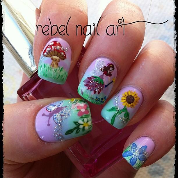 Garden Fairy Nails Loving These Nail Fairy Garden Flickr