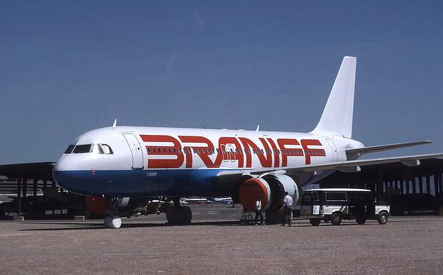 N903BN Braniff Airbis a320