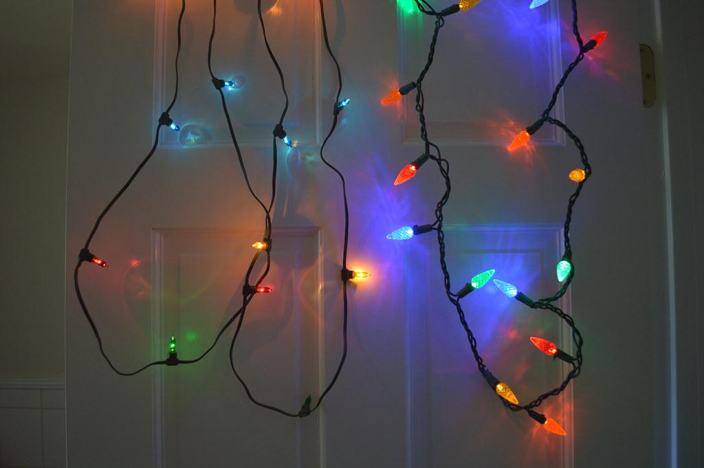 christmas light comparison led vs vintage incandescent by tracegilton - Led Vs Incandescent Christmas Lights