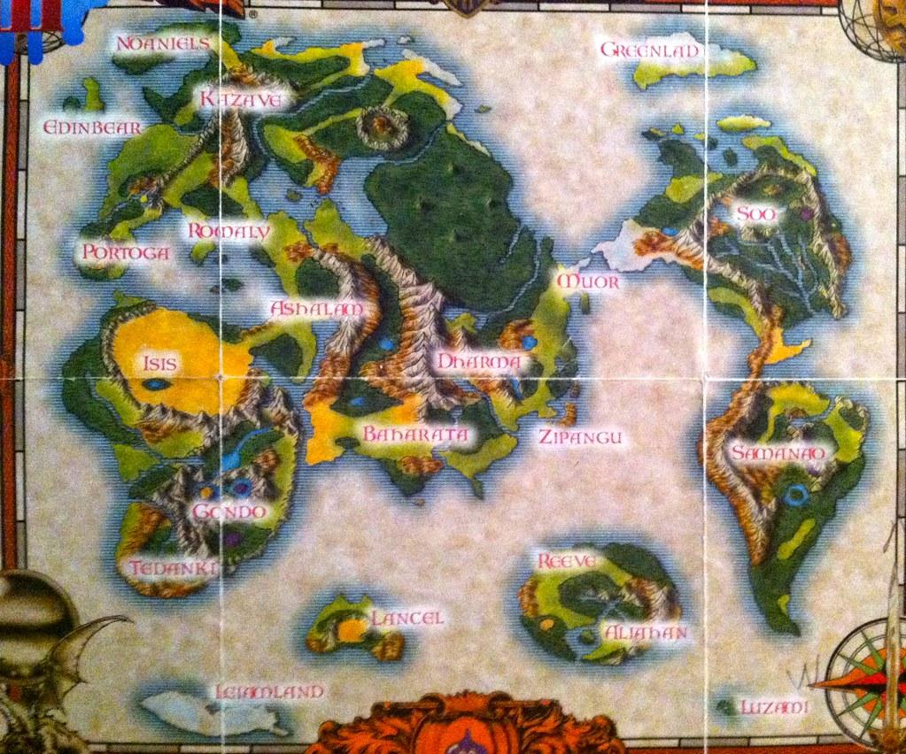 Dragon Warrior Iii World Map John Edwards Flickr