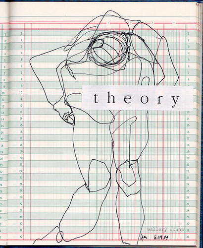 theory line drawing figure | by Gallery Juana, Juana Almaguer
