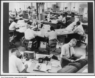 Toronto Star newsroom | by Toronto History