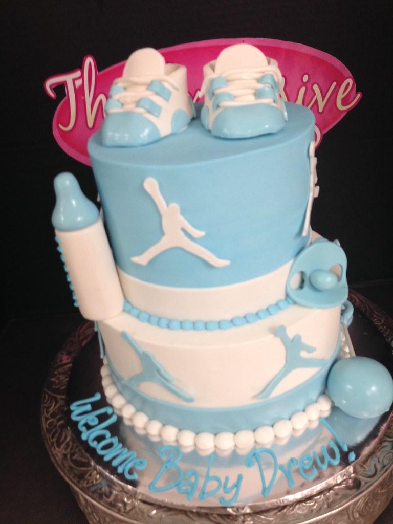 Michael Jordan Baby Shower Cake Exclusive Cake Shop Flickr
