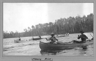 Historical, Canoes Albany River | by Matawa First Nations Management