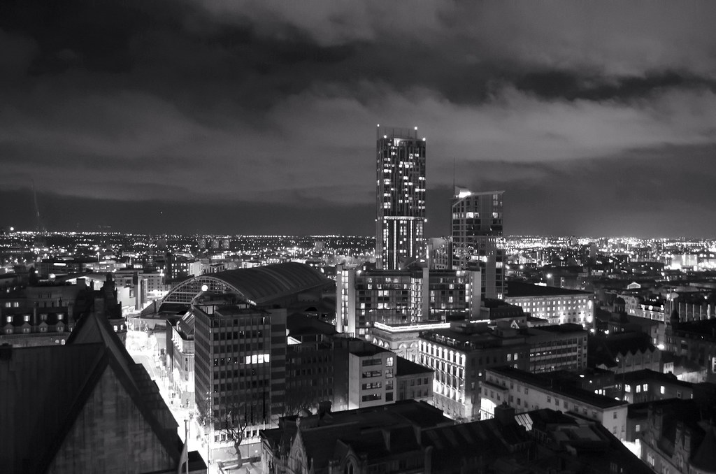 Manchester skyline by mart in mcr manchester skyline by mart in mcr