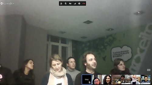 20140124_CoworkingDays_Videoconferencia Red Coworking Galicia (1) | by WeKCo