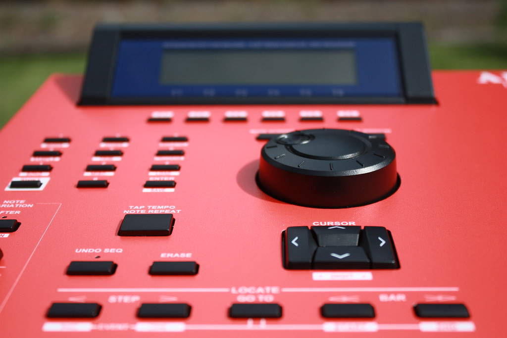 Red Custom Akai Mpc 2000xl Black Buttons Sahbatik Flickr