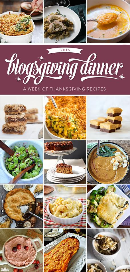 Great recipe ideas for Thanksgiving collage.