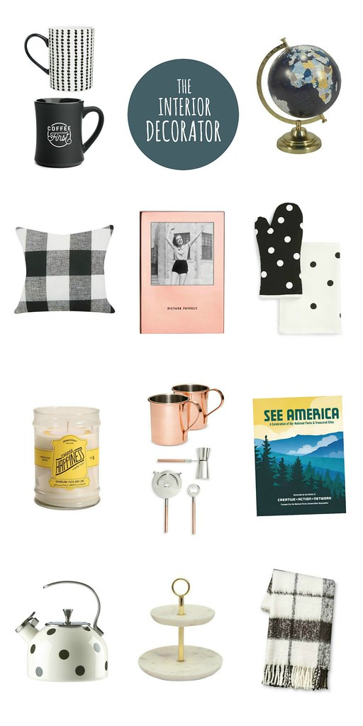 gift guide for the interior decorator 2016