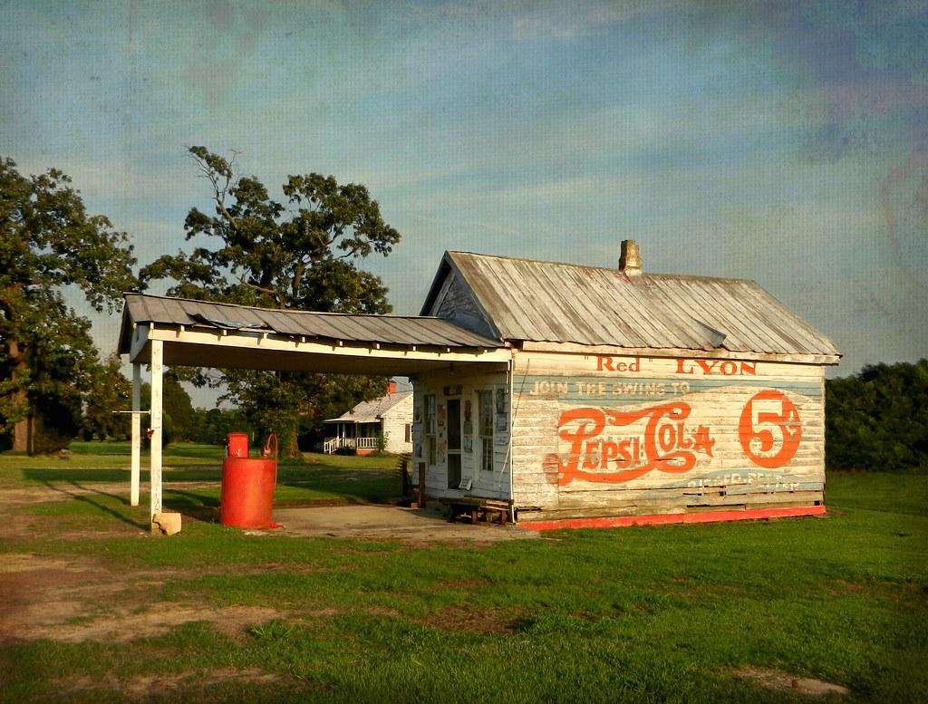 Greene County North Carolina Scenes Old Houses And