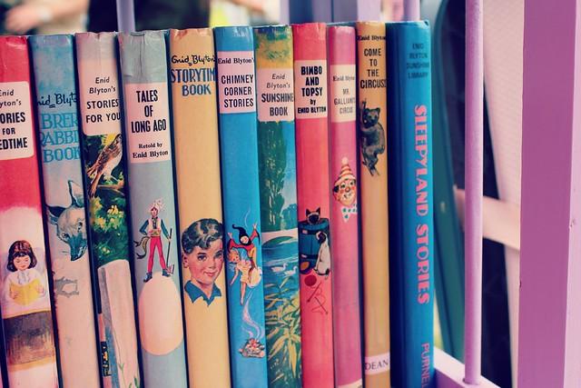 vintage_Enid_Blyton_books