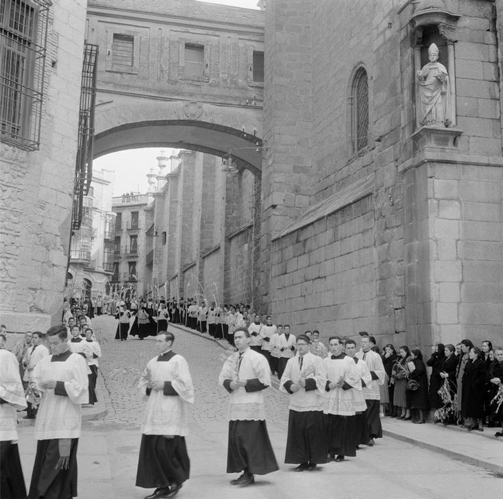 Domingo de Ramos en Toledo en 1949 fotografiado por Paul Almásy © AKG Images