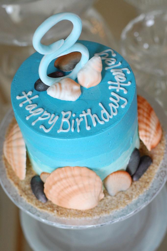Hayleys Seashell Birthday Cake Charmchang Flickr