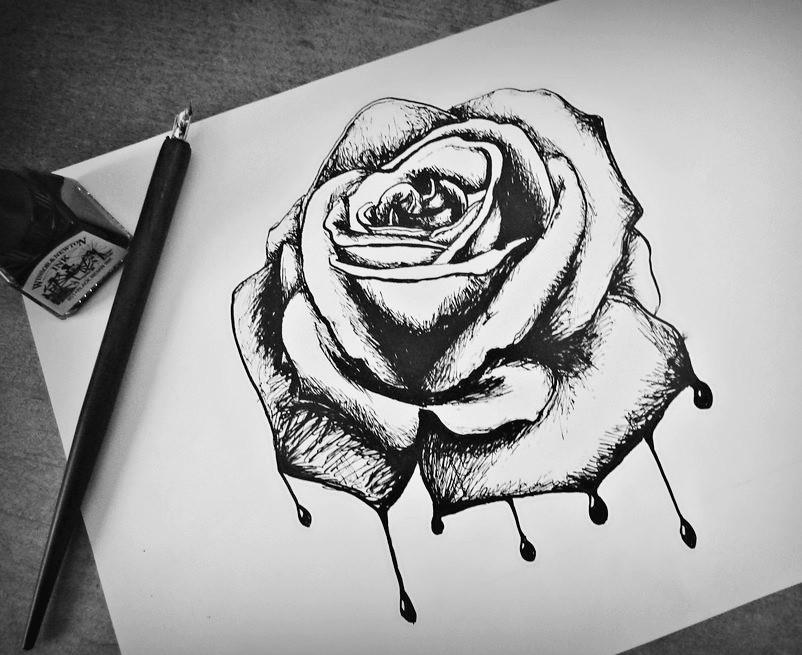 ya dibujo hasta rosas llorando y llora por el simple hech flickr