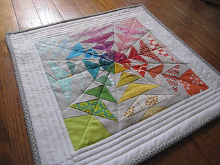 70's Geese Mini Quilt Finished | by needleanddime