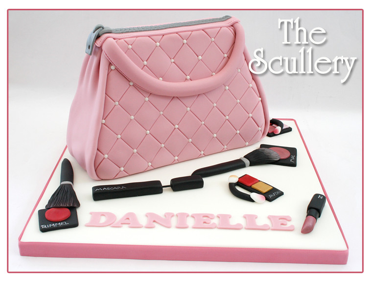Make Up Bag Cake The Scullery Louise Flickr