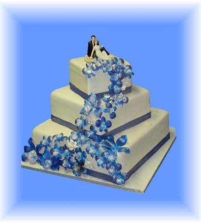 Gateau De Mariage Rapsodie En Bleu Gâteau De Mariage