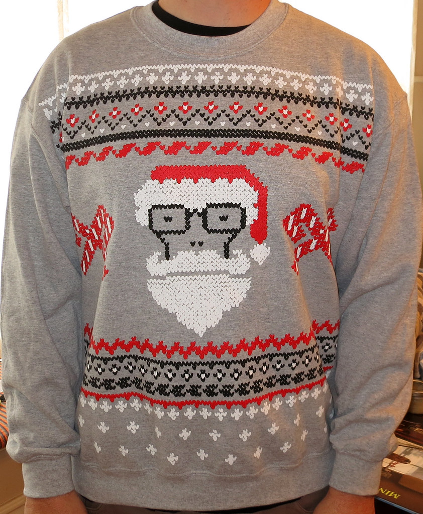 descendents holiday sweater 3 by minor thread - Descendents Christmas Sweater
