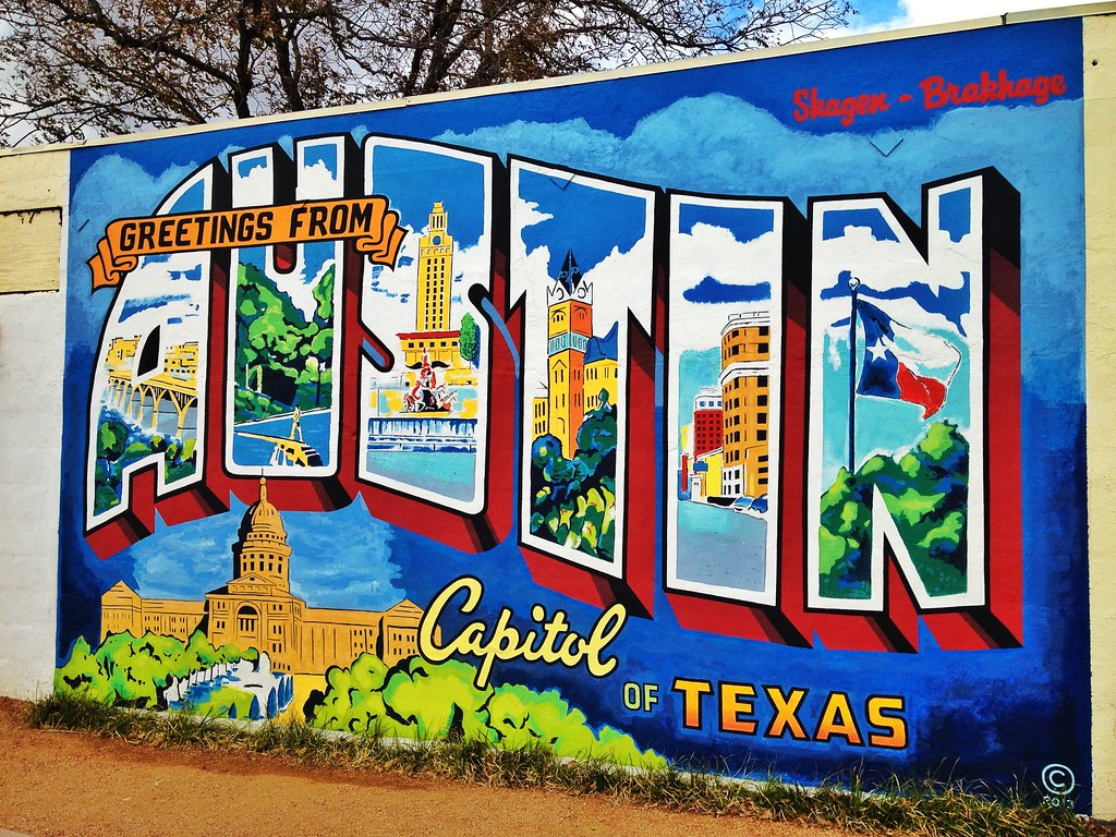 Image result for greetings from austin