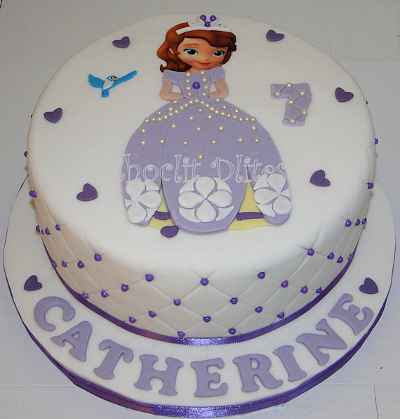 Custom Birthday Cakes Near Me Cake Order Online Catherines Princess Sofia