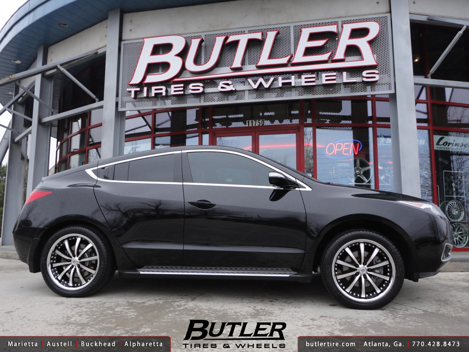 Acura ZDX With In Lexani LSS Wheels Additional Picture Flickr - Acura zdx wheels
