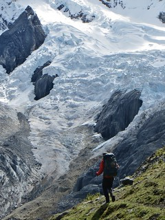 Wandering towards the Jurau glaciers. | by Pikes On Bikes