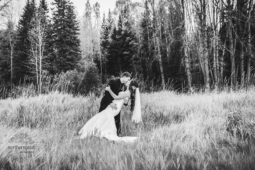 Wedding at Huble Homestead near Prince George BC