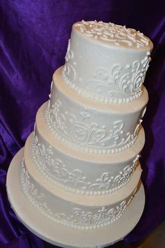 Wedding Cake | by How Sweet It Is Cakes