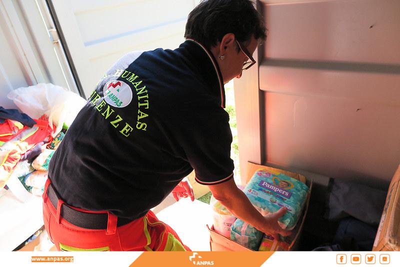 Terremoto centro Italia: l'impegno dei volontari Anpas