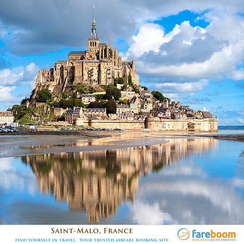 saint malo france book international cheap flights and. Black Bedroom Furniture Sets. Home Design Ideas