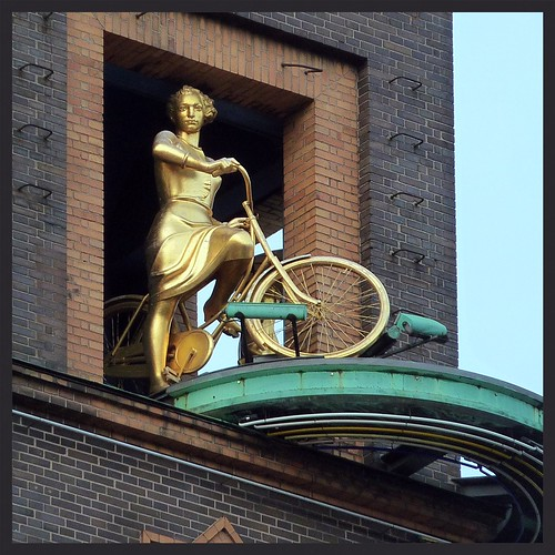 The Golden Bicycle Girl | by Jens Rost