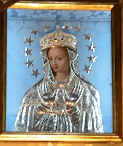 Bild der heiligen Lady of Victory