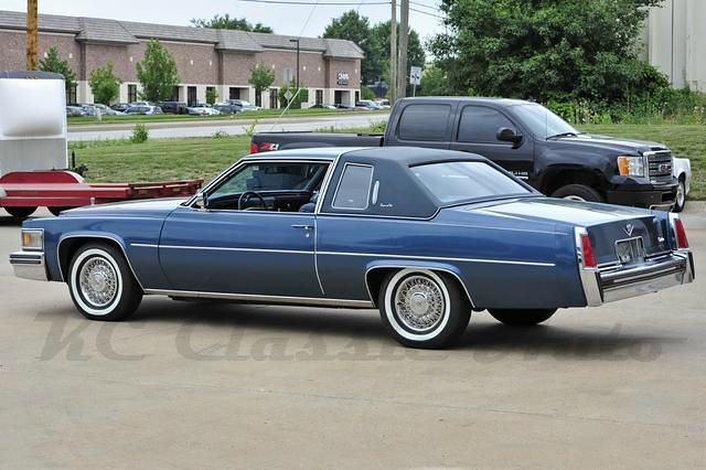 1977 Cadillac Coupe deVille | I this color. | smokuspollutus ...