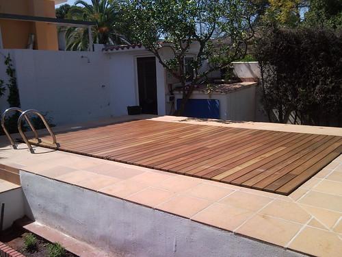 Plataforma fija pisable para piscinas plataforma fija for Plataforma para piscina