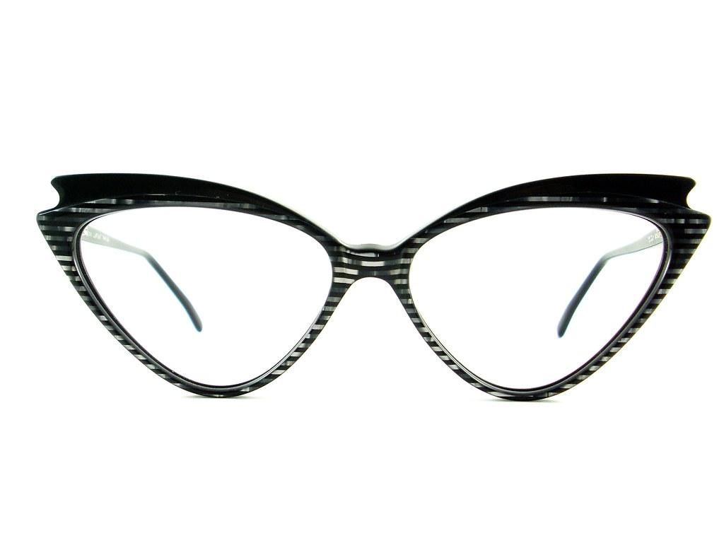 Vintage Jean Lafont Paris Glasses Frame Cat Eye Glasses Ey… | Flickr