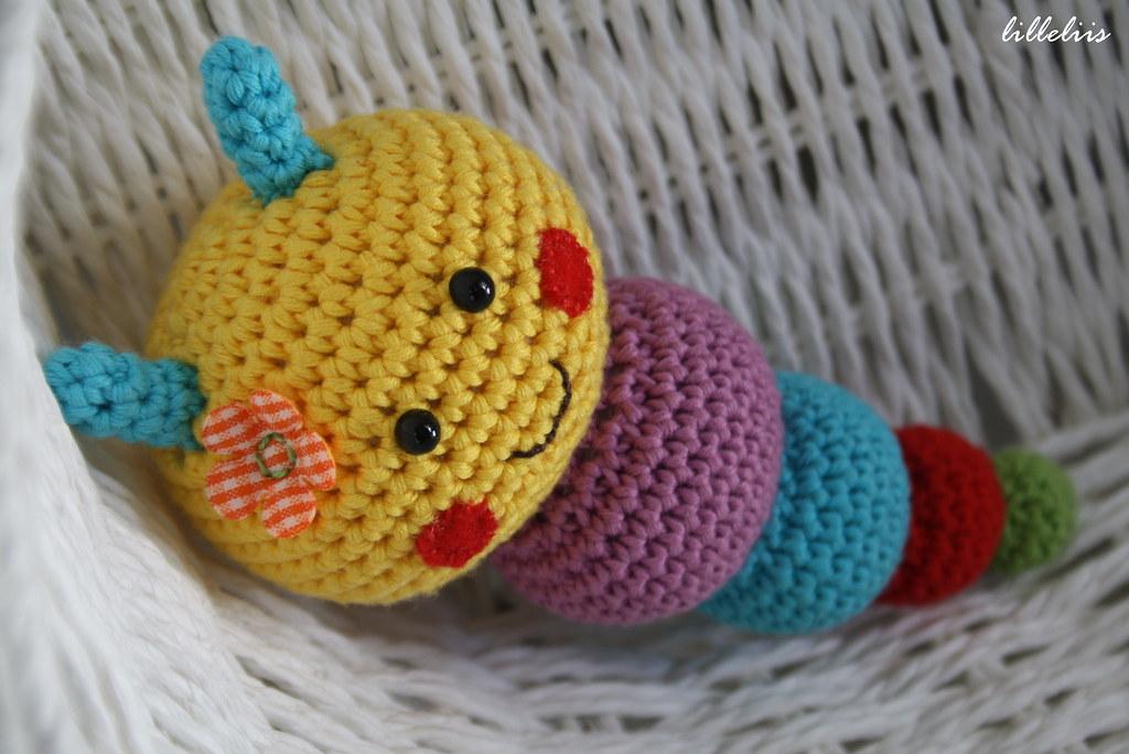 Amigurumi Rattle Free Pattern : Colorful caterpillar rattle designs by mari liis lille flickr