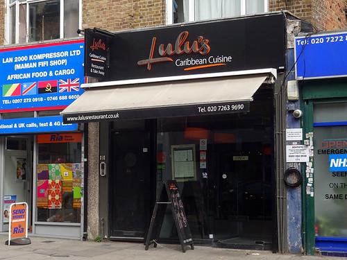 Lulu's Caribbean Cuisine, Finsbury Park, London N4