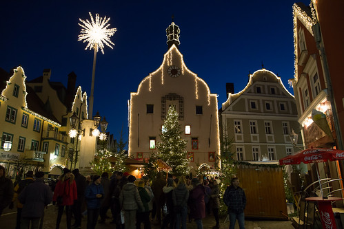 Abensberg Abensberg City In Christmas Lighting Innenst Flickr