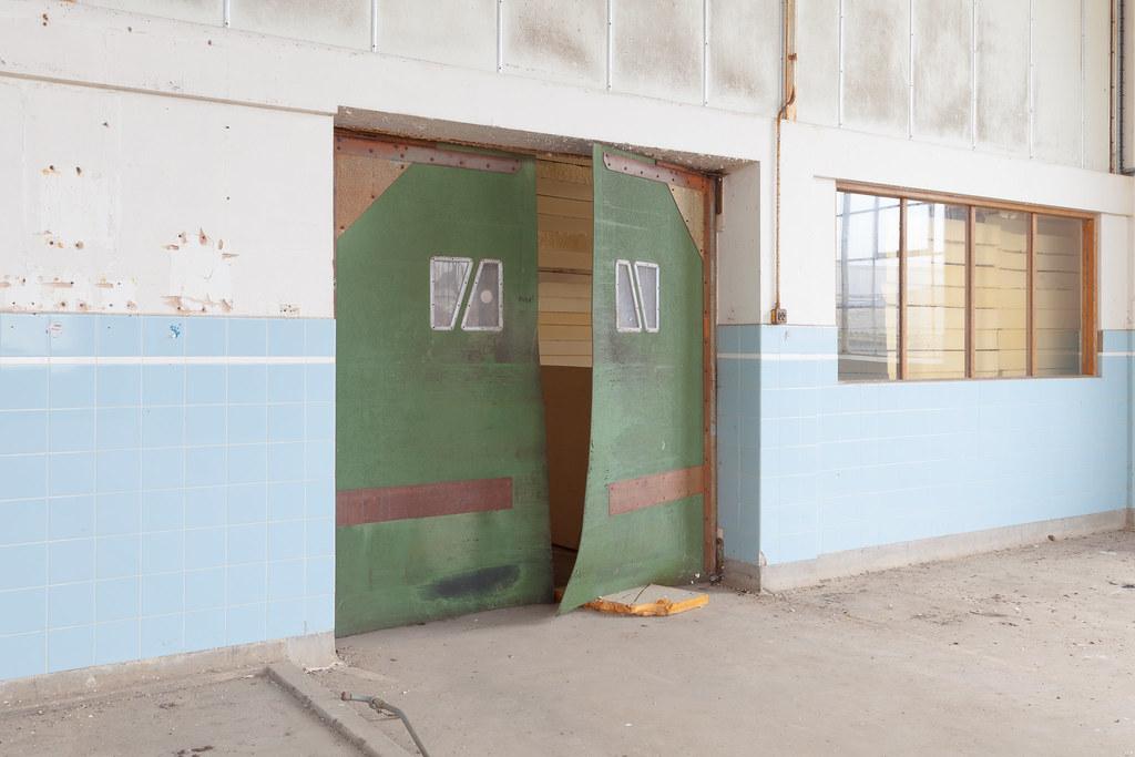 ... factory door | by RichardFraser & factory door | disused area | Richard:Fraser | Flickr