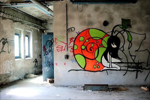 abandoned art brewery berlin artist nineta blog. Black Bedroom Furniture Sets. Home Design Ideas